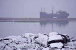 Shipwreck MV Ithaca Churchill Manitoba
