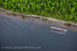 Shipwrecks On Coastline Of Lake Superior