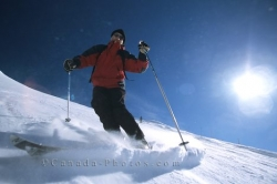 Skiing Whistler Mountain British Columbia