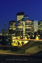 Skyline Night Calgary