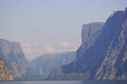 Steep Cliffs Western Brook Pond Newfoundland