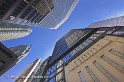 Toronto Stock Exhange In Financial District