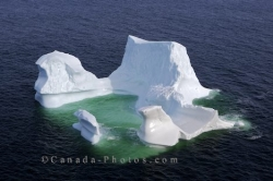Strait Of Belle Isle Iceberg Southern Labrador Canada