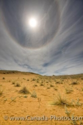 Summer Sun Halo Spirt Sands Trail Manitoba