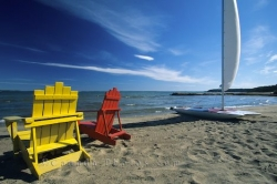 Sun Chairs Lake Huron