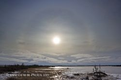Sun Halo Churchill Manitoba