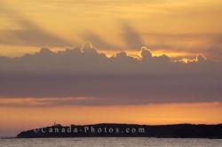 Sunset Cloud Formations Newfoundland Labrador