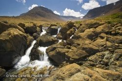 Tablelands Waterfall Newfoundland Labrador