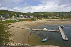 Tadoussac Waterfront Beach Marina Quebec