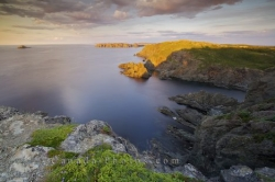 Twillingate Coastal Sunset Scenery Newfoundland