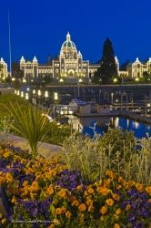 Victoria City Inner Harbour Parliament Buildings