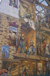 Wall Mural Picture Quartier Petite Champlain Old Quebec