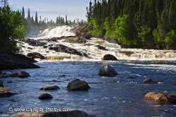 White Bear River Falls Waterfall Labrador