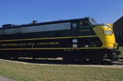 Waterloo St Jacobs Train Ontario