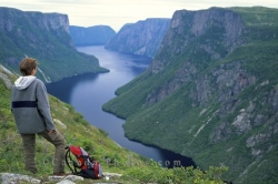 Western Brook Pond Scenery Newfoundland