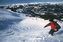 Whistler Skier British Columbia