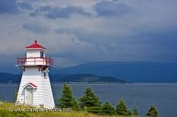 Woody Point Coastline Lighthouse Newfoundland