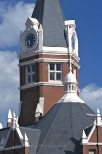 Clocktower in Stratford, Ontario, Canada, North America.