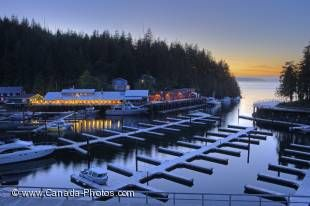 A charming vacation destination on the northern end of Vancouver Island, Telegraph Cove is one of the last remaining boardwalk communities in British Columbia.