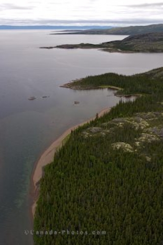 Photo: Aerial Melville Lake Southern Labrador