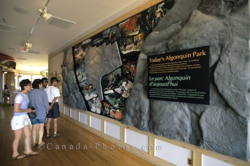 Photo: Algonquin Visitor Centre Ontario