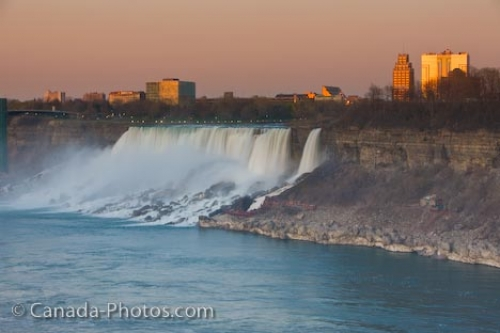 Photo: American Falls Niagara River New York State