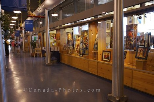 Photo: Art Galleries Bonsecours Market Montreal