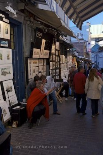 Photo: Artists Stands Quebec City