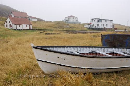 Photo: Battle Harbour Buildings Battle Island Southern Labrador