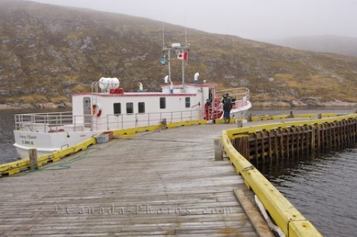 Photo: Battle Harbour Ferry Labrador