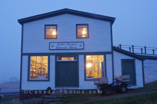Photo: Battle Harbour Shopping General Store Labrador
