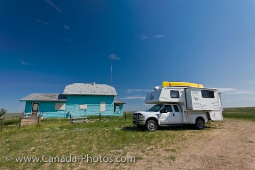 Photo: Belza Place Camping Grasslands National Park Saskatchewan