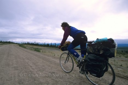 Photo: Dempster Highway Biker