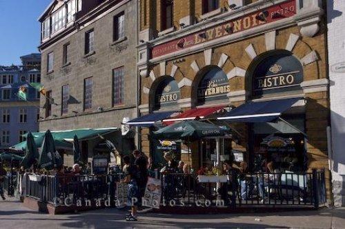 Photo: Bistro Streets Old Quebec