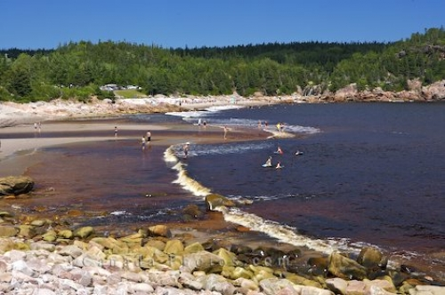 Photo: Black Brook Beach Cape Breton Nova Scotia