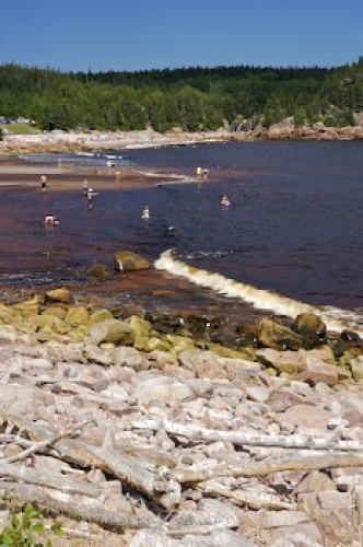 Photo: Black Brook Cove Cape Breton Nova Scotia