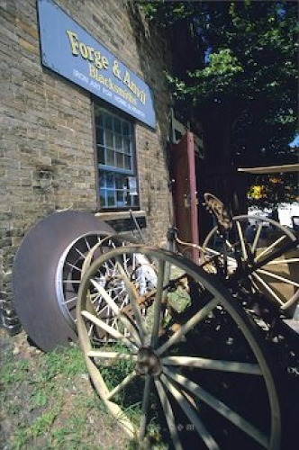 Photo: Blacksmith Shop St Jacobs Ontario