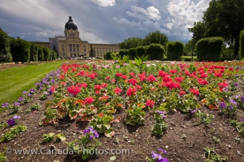 Photo: Blossoming Flowers Queen Elizabeth II Gardens Regina Saskatchewan