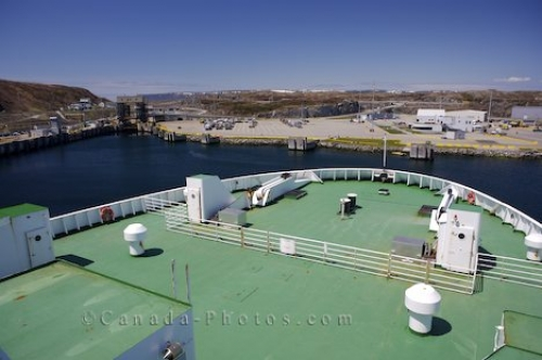 Photo: Boat Bow Marine Atlantic Ferry Newfoundland