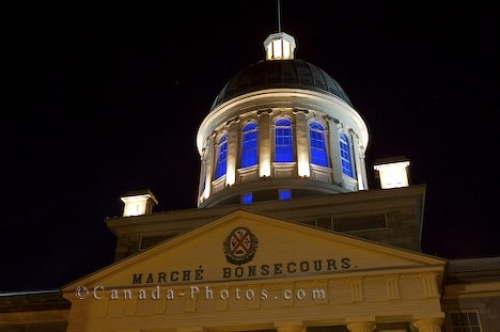 Photo: Bonsecours Market Dome Old Montreal Quebec