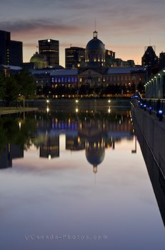 Photo: Bonsecours Market Reflections Montreal Quebec