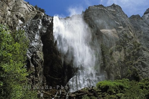 Photo: Bridal Vail Falls Yosemite Park California picture