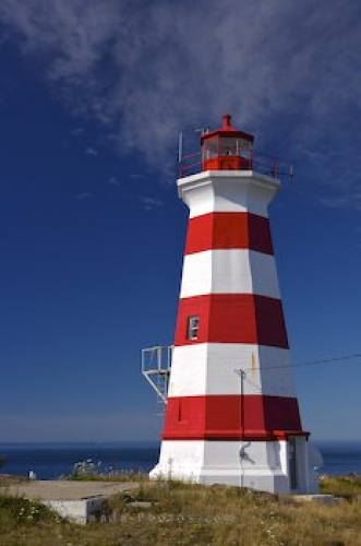 Photo: Brier Island Lighthouse Picture Nova Scotia Canada