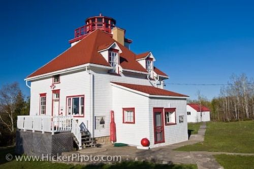 Photo: Cabot Head Lighthouse Dyer Bay Bruce Peninsula Ontario