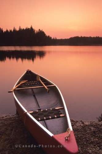 Photo: Canoe Beached Algonquin Provincial Park