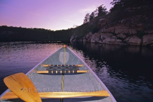 Photo: Canoe Grounded Algonquin Provincial Park