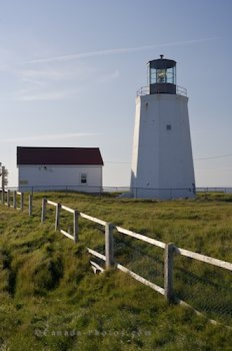 Photo: Cape St Marys Lighthouse Building Avalon Peninsula Newfoundland