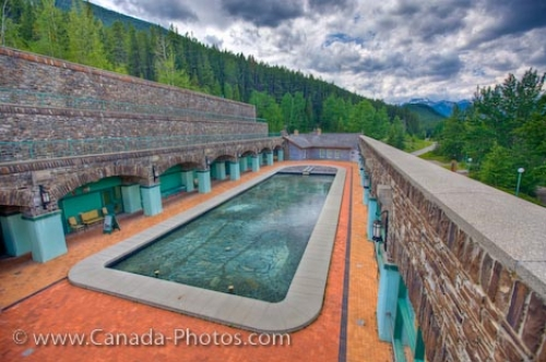 Photo: Cave And Basin Pool Sulphur Mountain Banff National Park