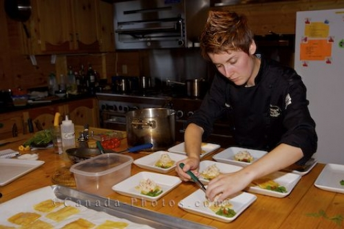 Photo: Gourmet Chef Food Preparation