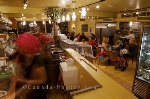 Photo: Chocolate Restaurant Rue Saint Denis Montreal Quebec